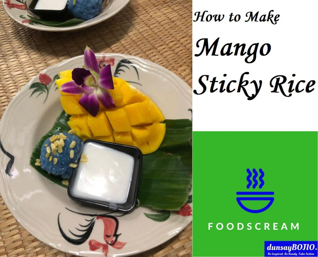 how to cook mango sticky rice