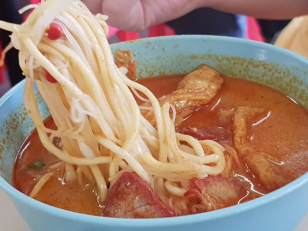 KL Kepong Curry Noodle