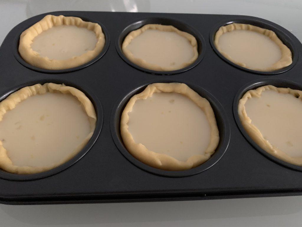 baking egg tarts at home
