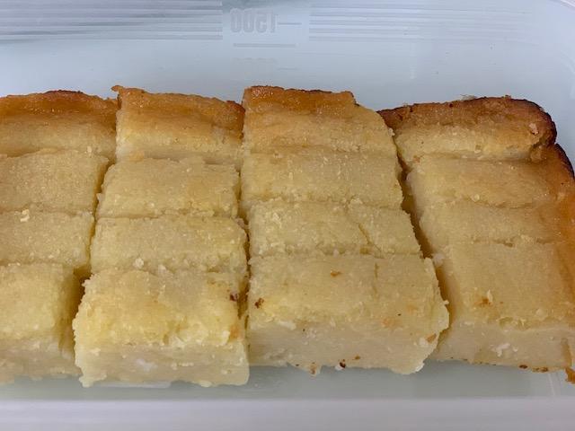 Nyonya Kueh - Kueh Ubi Bingka (Baked Tapioca Cake or Cassava Cake