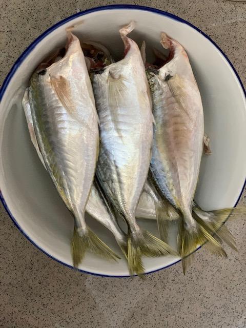 Assam Pelai with Selar Fish or Ikan Selar