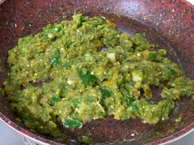 Fry Cabe Ijo ala Indonesian Green Chilli